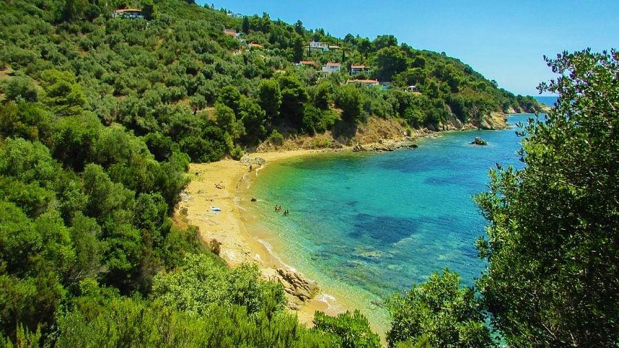 best beaches in greece-Diamandi Beach-skiathos