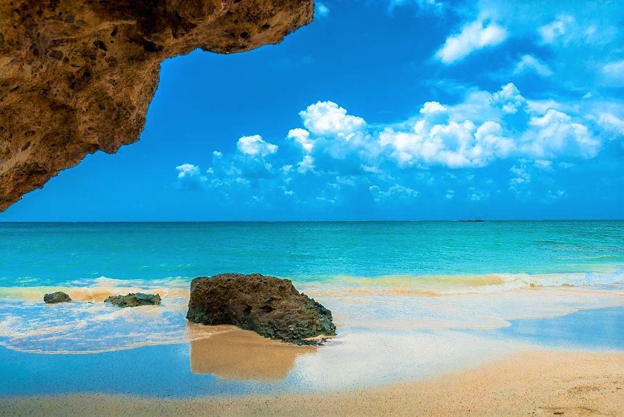 best beaches in greece-Elafonisi Beach-Crete