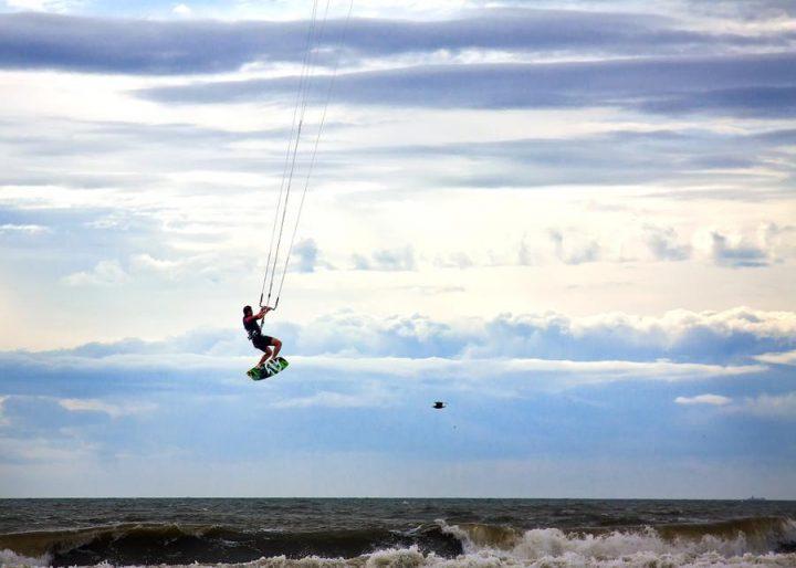 St Lucia beaches windsurfing in Cas en Bas beach