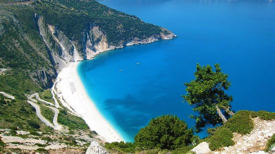 things to do in greece visit myrtos beach kefalonia island