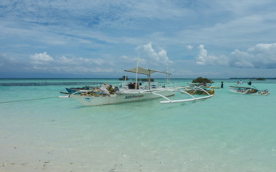 Sand bar at Virgin Island, Bohol - 10 of the best Philippines Beaches