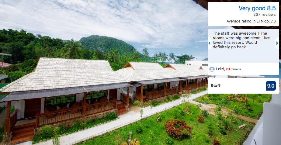 palawan resorts the nest el nido