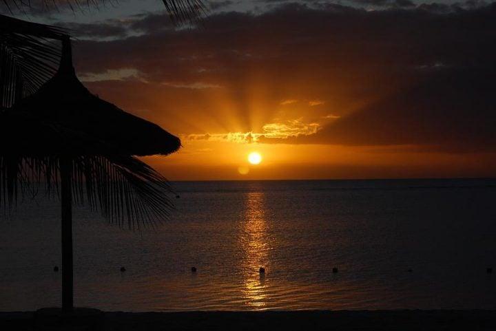 St Lucia beaches Sugar Beach sunset