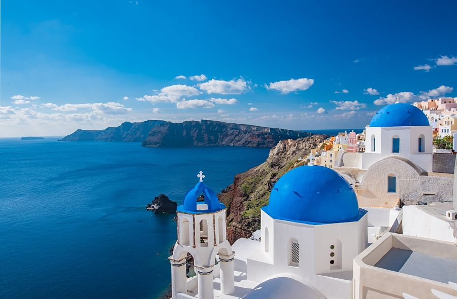 weather in greece-santorini-greek-island