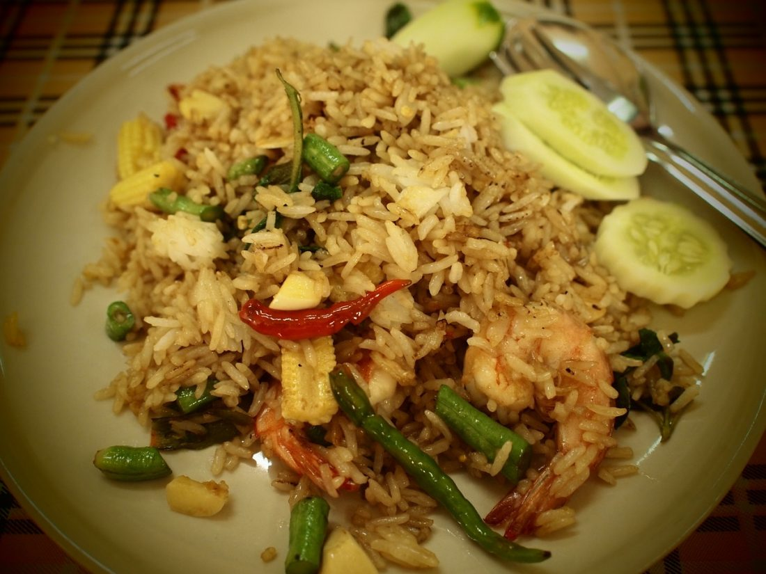 food to try in thailand fried rice