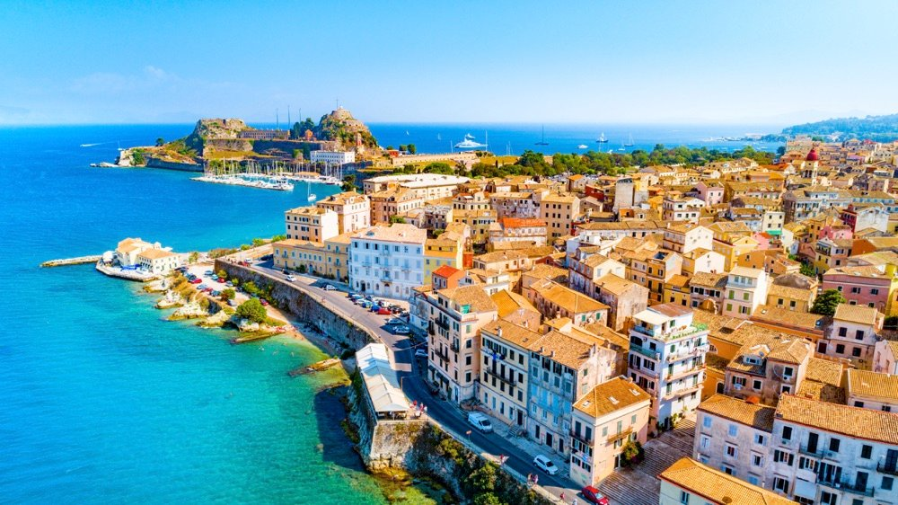 where to stay in corfu town