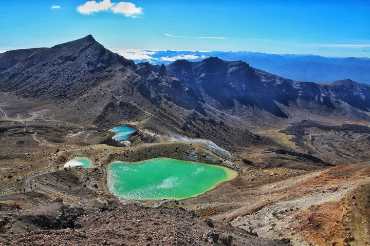New Zealand Country Guide. The Emerald Lakes, Tongariro. Photo by beardandcurly.com.