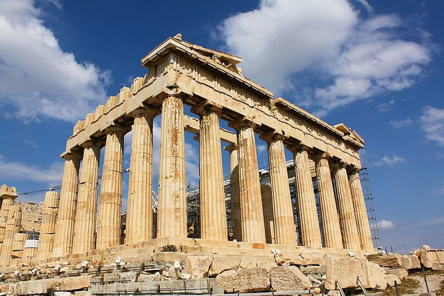 Places to visit in Greece-athens-pantheon