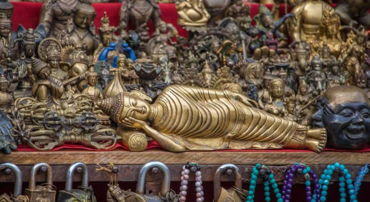 Brass souvenirs - 12 amazing places to visit in nepal