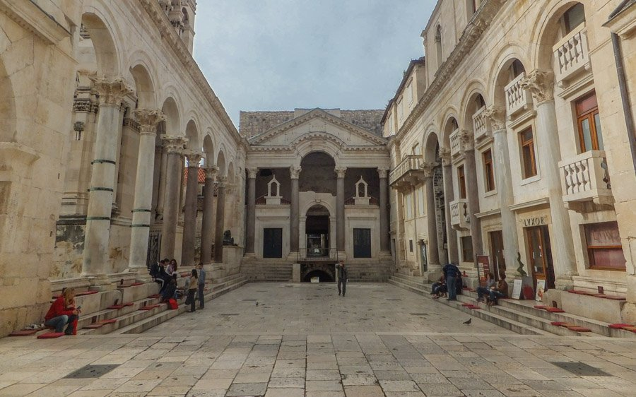 Diocletian's Palace - things to do in Split