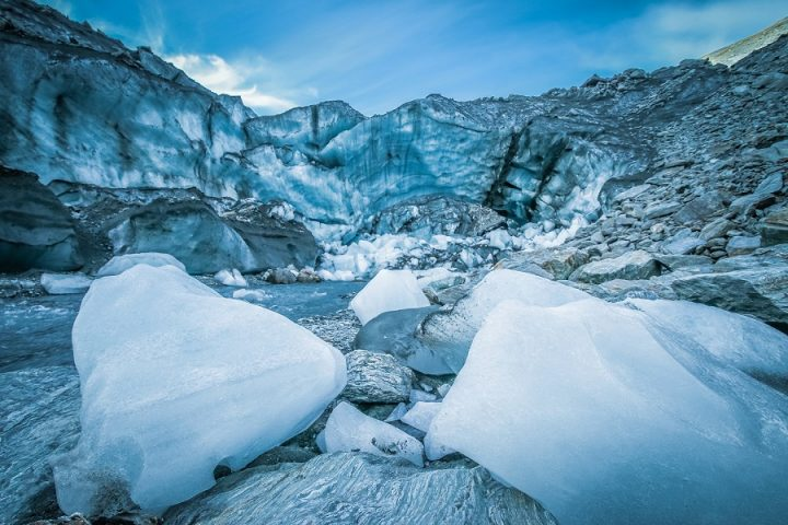 New Zealand Country Guide. Hiking can bring you to amazing places. For example...glaciers. Photo by beardandcurly.com