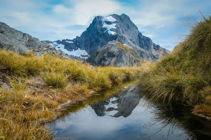 New Zealand Country Guide. Mount Awful in Aspiring National Park, New Zealand. Photo by www.beardandcurly.com.