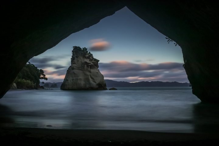 New Zealand Country Guide. Cathedral Cove, Coromandel. Photo by beardandcurly.com.