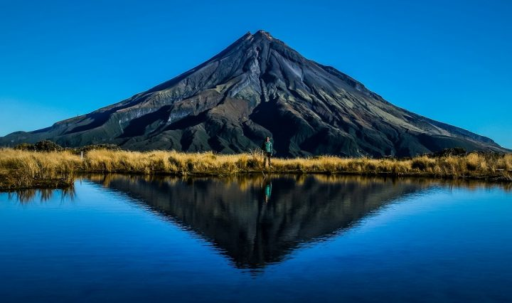 New Zealand Country Guide. Puakai Tarns, Mount Taranaki. Photo by beardandcurly.com.