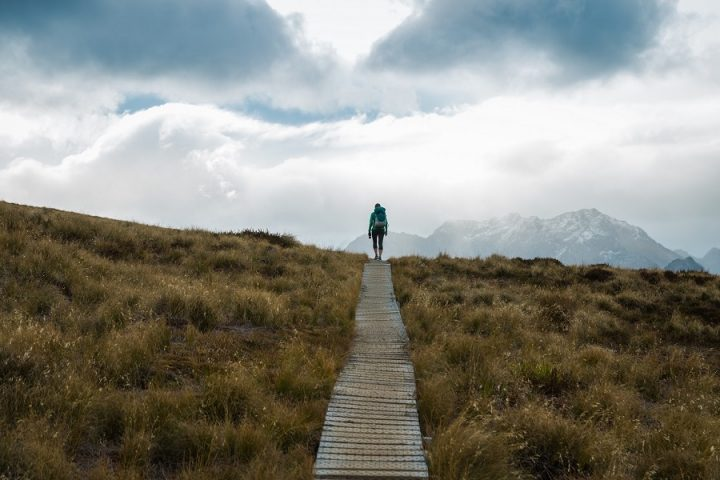 New Zealand Country Guide. Hiking the Kepler Track. Photo by beardandcurly.com.