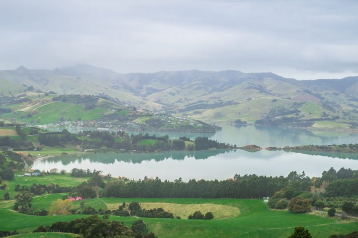 New Zealand Country Guide. Driving to Akaroa on the Banks Peninsula. Photo by beardandcurly.com.