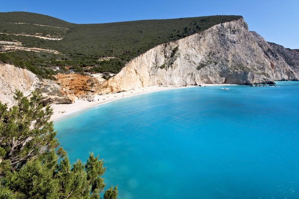 best beaches in greece-Porto Katsiki-Lefkada
