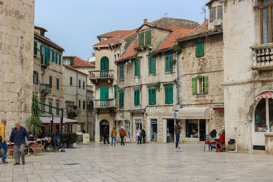 Roaming about the streets of the city - things to do in split