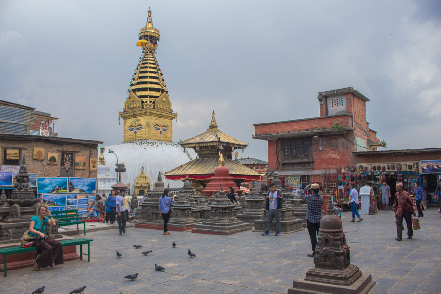 Swayanbhunath Stupa- 12 amazing places to visit in nepal