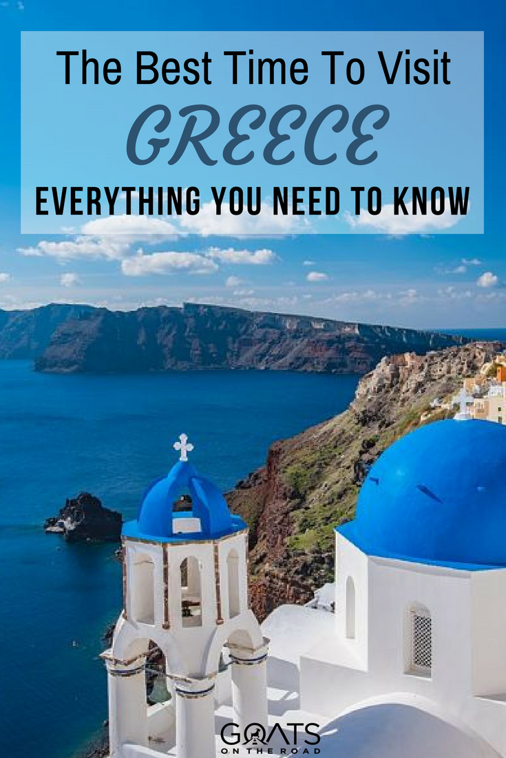 Weather in Greece: When is The Best Time to Visit? - Goats