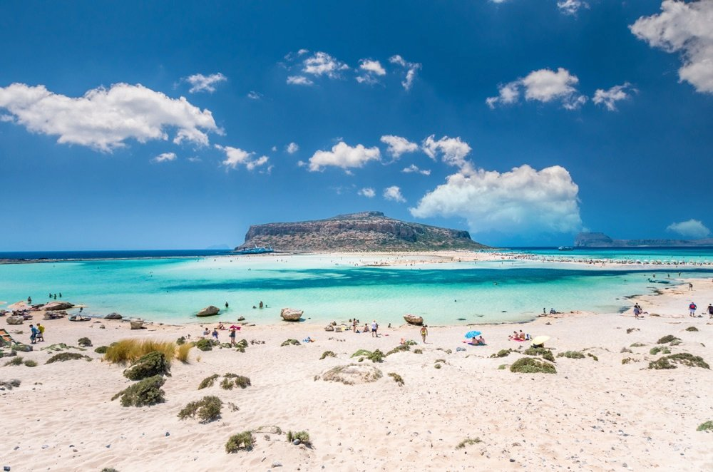 balos beach top beach in greece