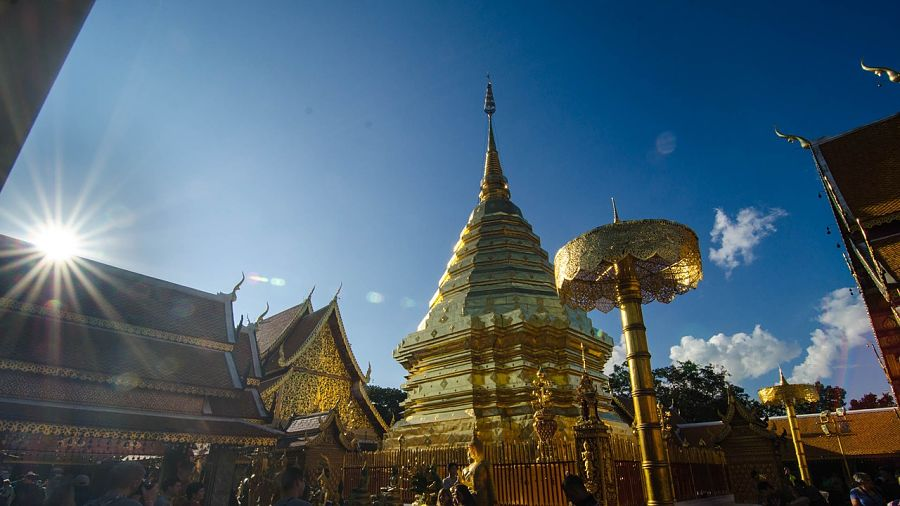 Things to do in Chiang Mai-doi suthep-temple-thailand