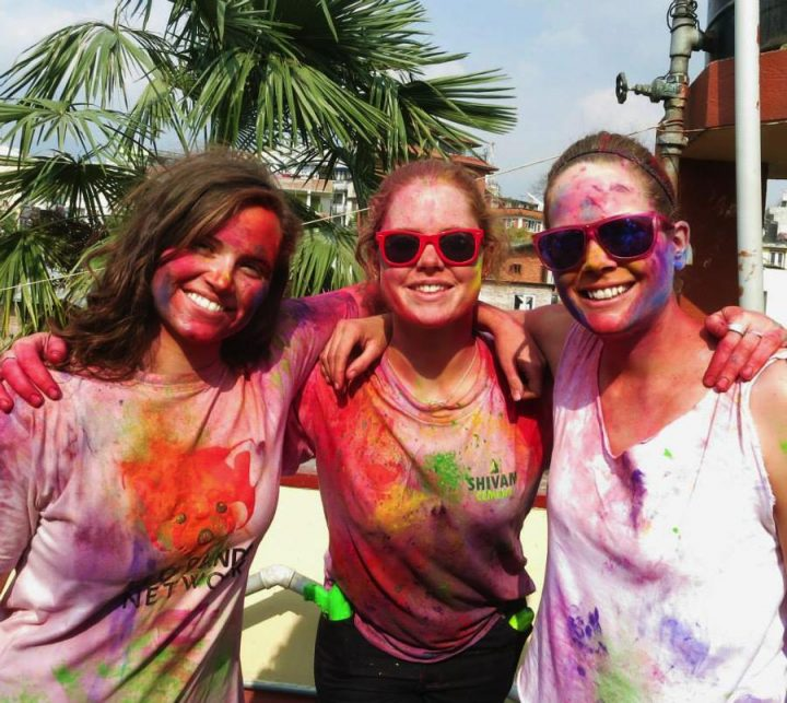 things to do in Kathmandu Holi Festival