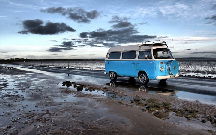 New Zealand Country Guide. Campervan in New Zealand.