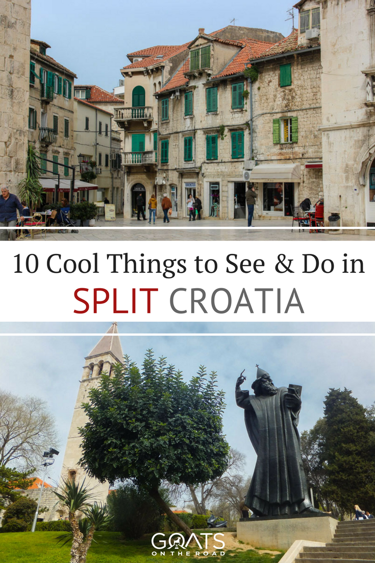sites in split, croatia with text overlay