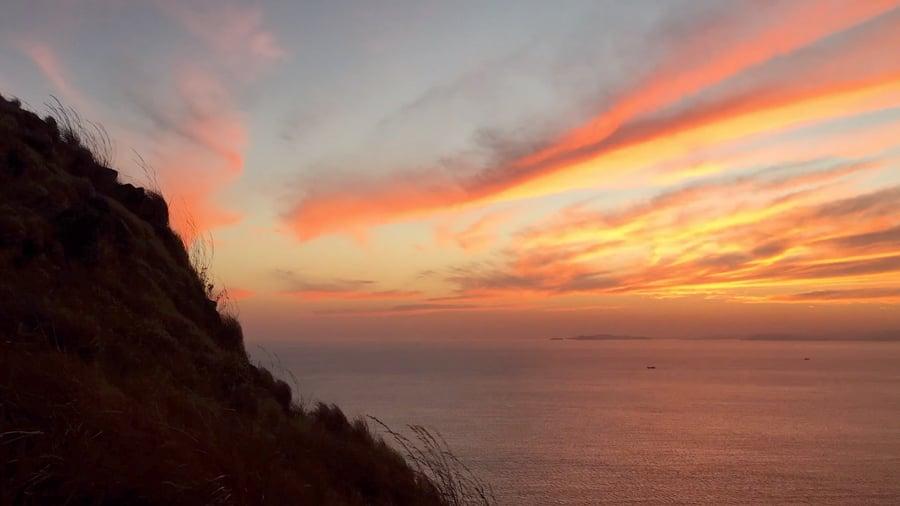 Sunrise Gili Lawa Komodo