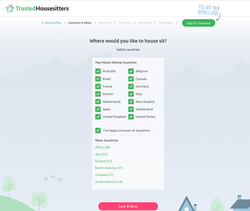 Signing Up For The Best Websites For House Sitting