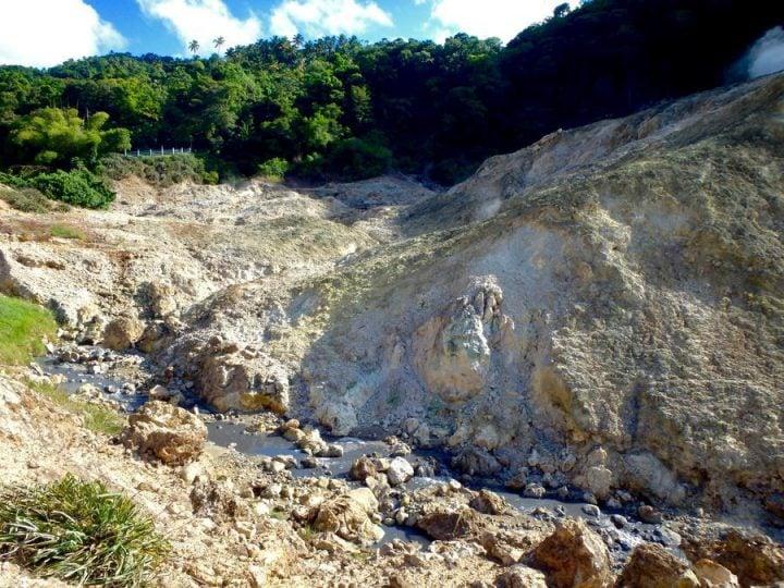 sulphur springs st. lucia mud bath