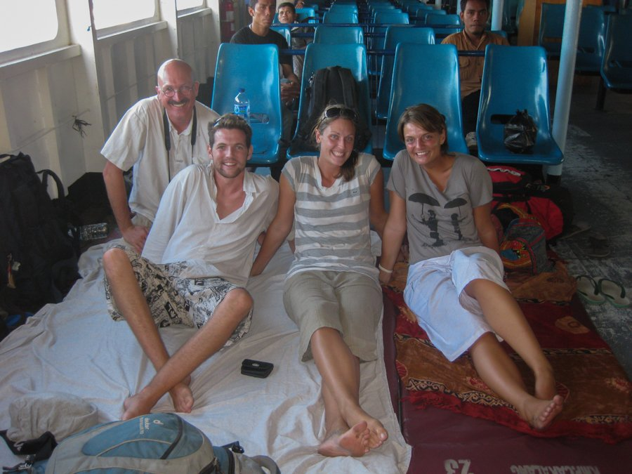 Diving in Komodo Getting There via Ferry