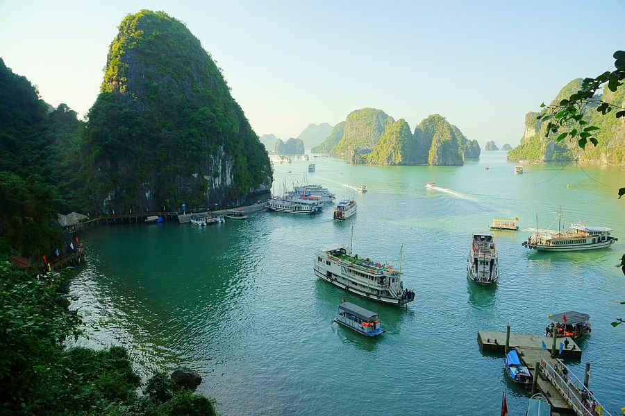 Where to go in Vietnam-halong-bay-travel-itinerary