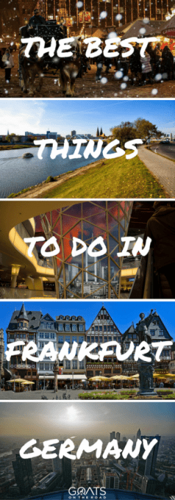 What To Do In Frankfurt Germany