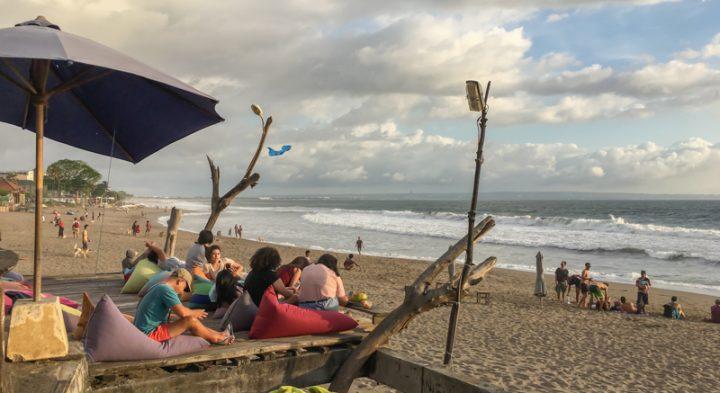 beach in canggu bali