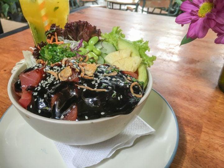 canggu bali Delicious Poke Bowl