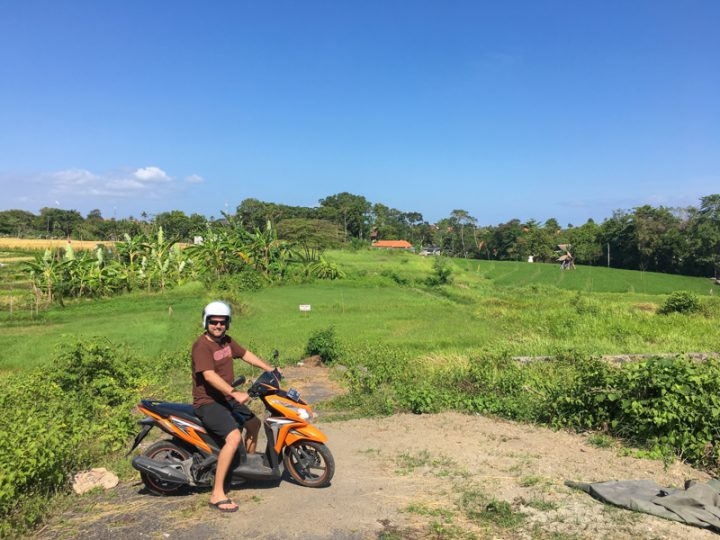 canggu bali motorbike rental