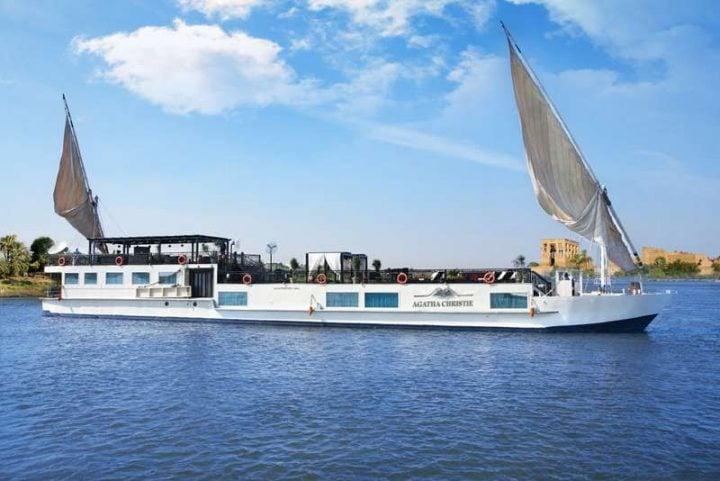 Sailing Nile River Cruise Egypt