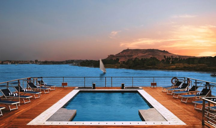 Nile River Cruise Pool View