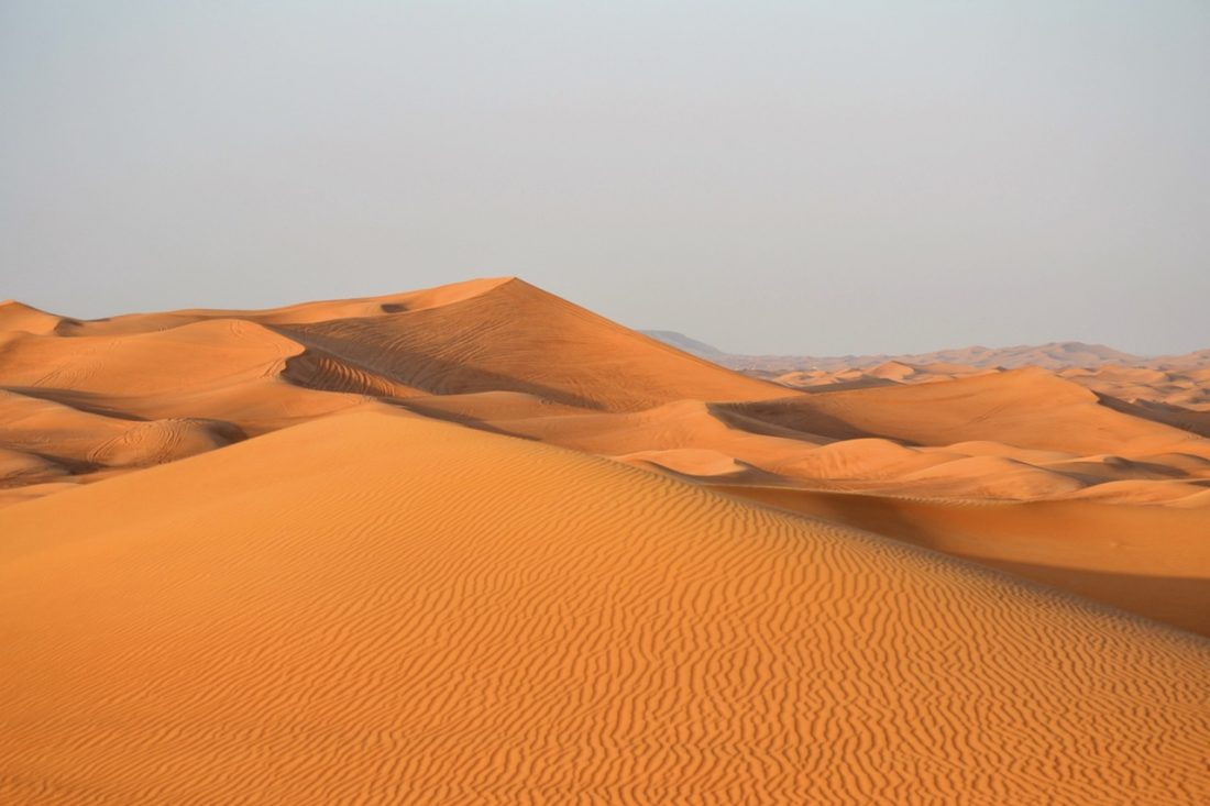 things to do in dubai sand dunes