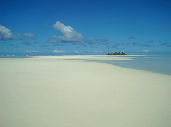 Rarotonga Travel Guide Aitutaki Sand Bar Lagoon