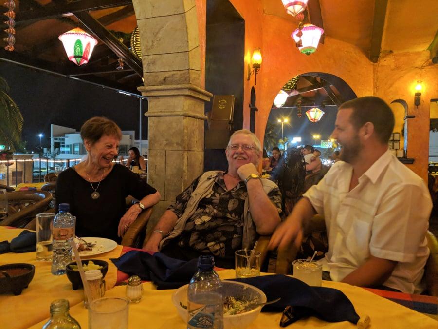 manzanillo colima visiting with family