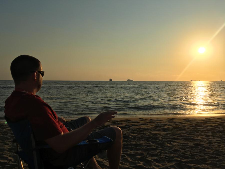 living in manzanillo colima sunsets on manzanillo bay