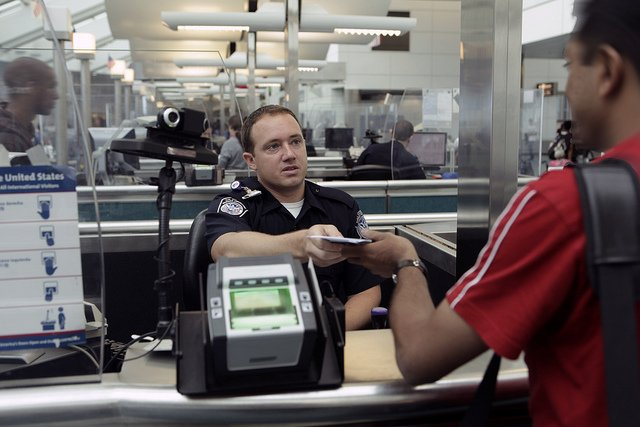 Immigration Officer Onward Travel Documentation