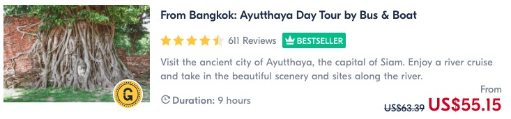 places to visit in thailand do a day trip to ayuttaya tour