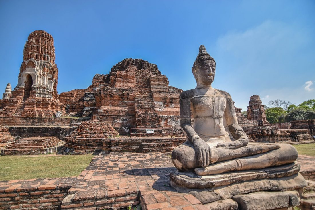 The ancient city of Ayutthaya is an incredible site in thailand and one of the best places to see