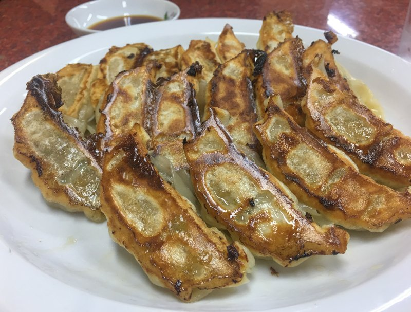 where and what to eat in kyoto gyoza dumplings