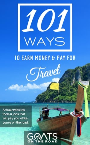 Earn Money Pay For Travel