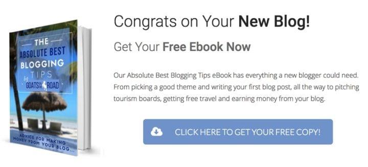 Start a Blog Get Free eBook